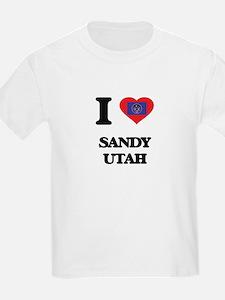 I love Sandy Utah T-Shirt