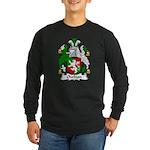 Owlton Family Crest Long Sleeve Dark T-Shirt
