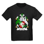 Owlton Family Crest Kids Dark T-Shirt