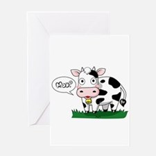 Moo? Greeting Cards