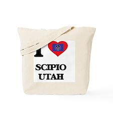 I love Scipio Utah Tote Bag