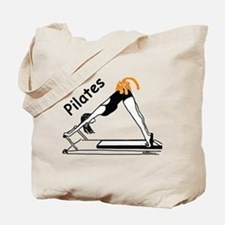 Pilates Cat Tote Bag