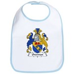Overman Family Crest Bib