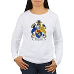 Overman Family Crest Women's Long Sleeve T-Shirt