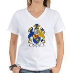 Overman Family Crest Women's V-Neck T-Shirt