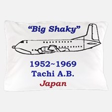 C-124 Big Shaky Tachikawa air base japan Pillow Ca