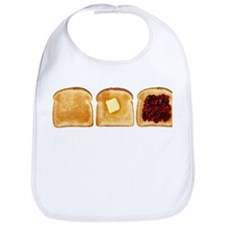 3 Toasts Bib