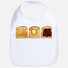 3 Toasts Bib