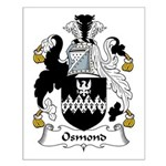 Osmond Family Crest Small Poster