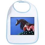 bay arabian horse Bib