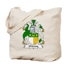 Ordway Family Crest Tote Bag