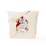 Orange Family Crest Tote Bag
