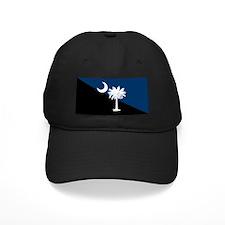Blue and Black South Carolina Flag Baseball Hat