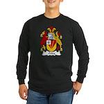 Onley Family Crest Long Sleeve Dark T-Shirt