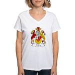 Onley Family Crest Women's V-Neck T-Shirt