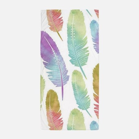 Boho Feather Pattern