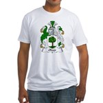 Oliver Family Crest Fitted T-Shirt