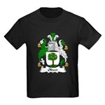 Oliver Family Crest Kids Dark T-Shirt