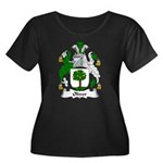 Oliver Family Crest Women's Plus Size Scoop Neck D