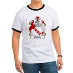Oldfield Family Crest Ringer T