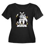Oldcastle Family Crest Women's Plus Size Scoop Nec