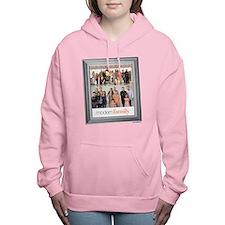 Modern Family Portrait Women's Hooded Sweatshirt