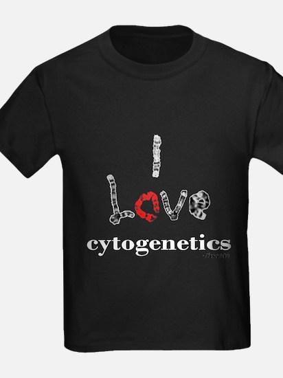 I love Cytogenetics Chromosome lette T-Shirt
