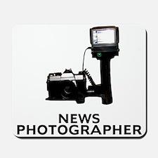 News Photographer Mousepad