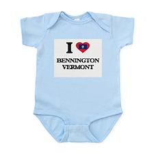I love Bennington Vermont Body Suit