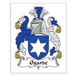 Ogarde Family Crest Small Poster