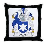 Ogarde Family Crest Throw Pillow