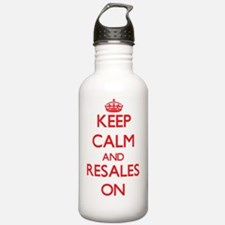 Keep Calm and Resales Water Bottle