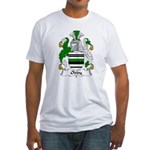 Oddy Family Crest Fitted T-Shirt