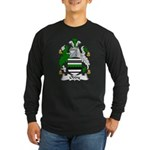 Oddy Family Crest Long Sleeve Dark T-Shirt