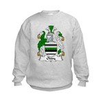Oddy Family Crest Kids Sweatshirt