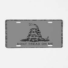 Cute Gadsden flag Aluminum License Plate