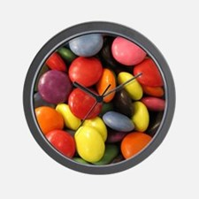 cute chocolate candy  Wall Clock