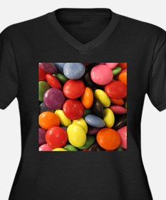 cute chocolate candy Plus Size T-Shirt