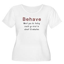 Behavior Plus Size T-Shirt