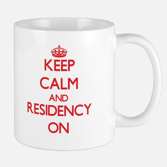 Keep Calm and Residency ON Mugs