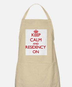 Keep Calm and Residency ON Apron