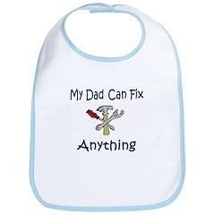 My Dad Can Fix Anything Bib