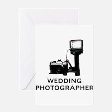 Wedding Photographer Greeting Card