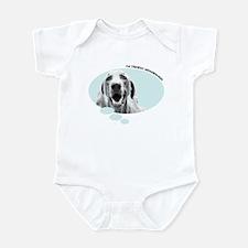 I'm Thinkin' Weimaraner! Infant Bodysuit