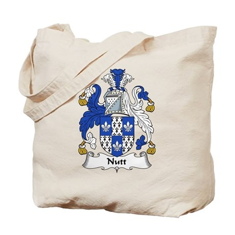 Nutt Family Crest Tote Bag