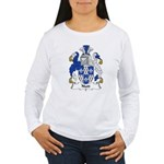 Nutt Family Crest  Women's Long Sleeve T-Shirt