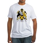 Nunn Family Crest Fitted T-Shirt