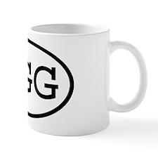 GGG Oval Mug