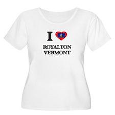 I love Royalton Vermont Plus Size T-Shirt