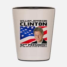 42 Clinton Shot Glass